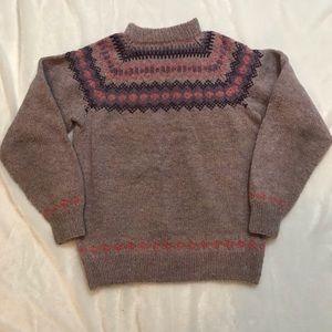 Vintage Canadian wool sweater